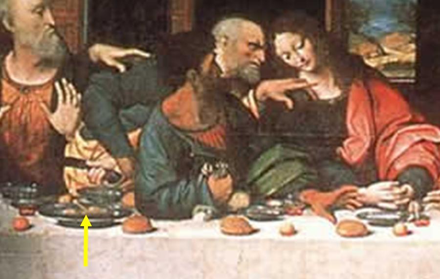Last Supper Da Vinci Code Theory | www.pixshark.com ...